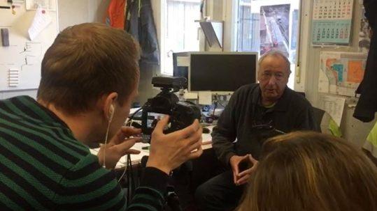 Op bezoek bij projectleider Jan (66)