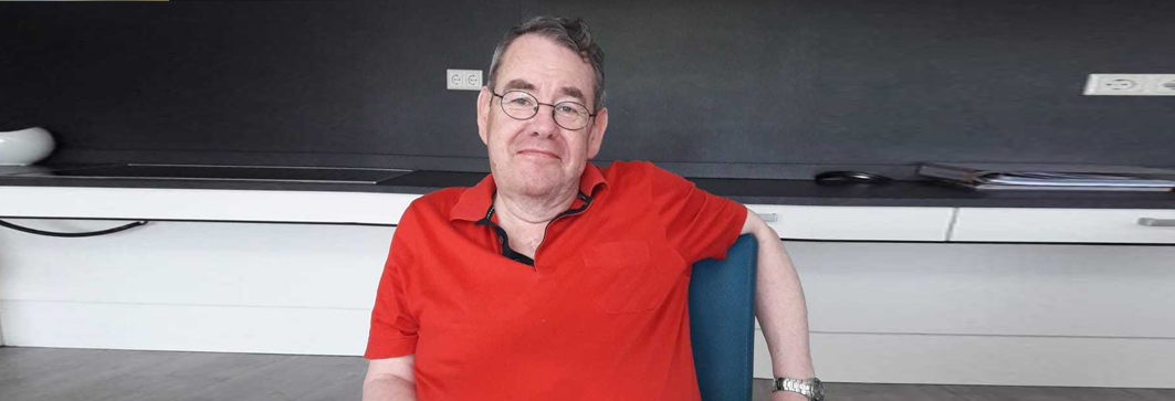 Gepensioneerde gastheer Piet Hein